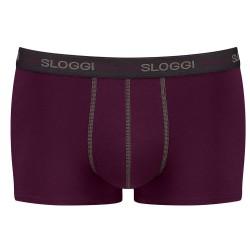 Sloggi Men Start Hipster Χακί/Μπορντώ 3 Τμχ 122137142