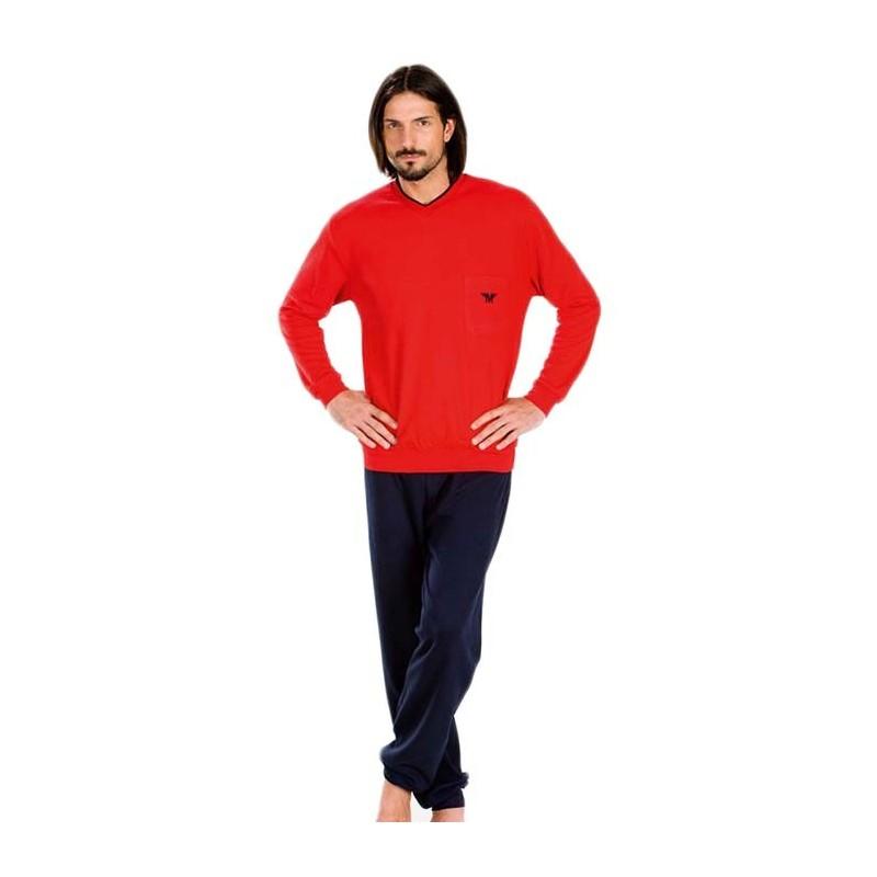 Minerva Pijamas Red Pocket 70514