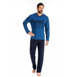 Men Pijamas Midnight Blue Raf