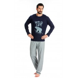 Men Pijamas Bear Marin