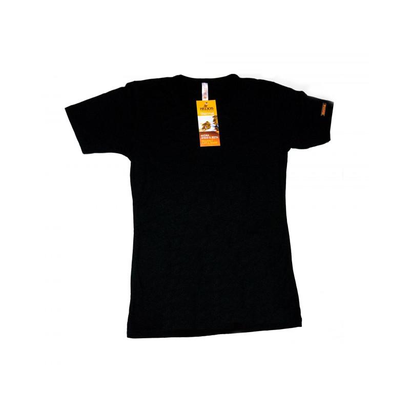 Helios Ισοθερμική Ανδρική Φανέλα Κοντό Μανίκι Μαύρο 80818