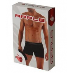 Apple Men Boxer Black-Bordaux 0110931