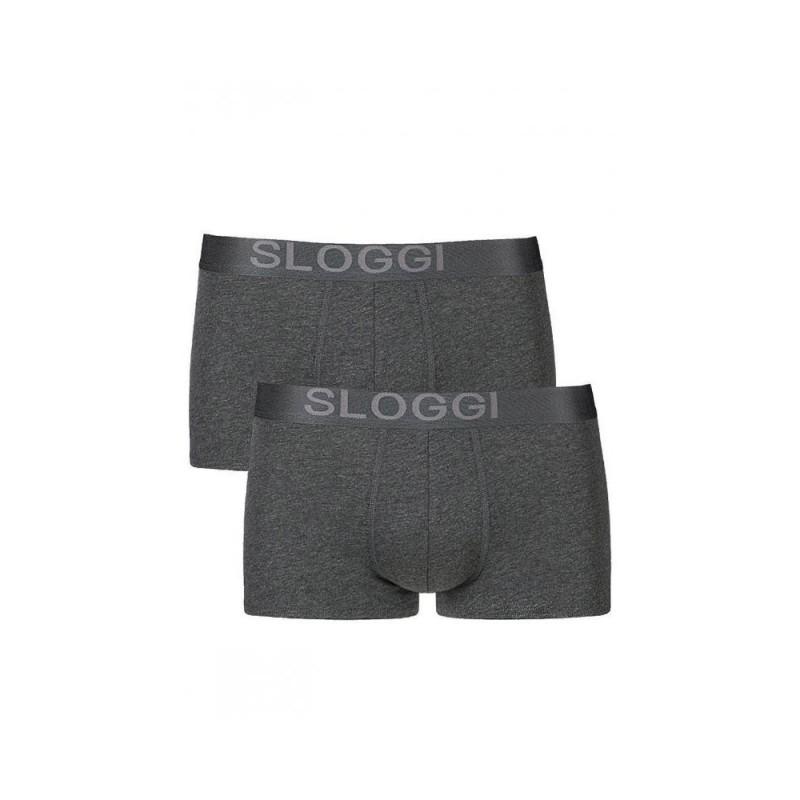 Sloggi Boxer Men Avenue Hipster Γκρι 2τμχ 122056119