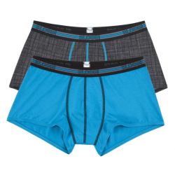 Sloggi Boxer Men Match Hipster Πετρόλ 2 Τμχ 122108326