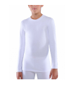 Ισοθερμική παιδική φανέλα μακρύ μανίκι Λευκό