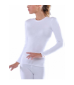 Isothermal Women Long-Sleeve White
