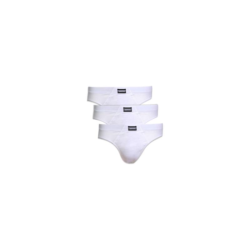 Minerva Slip Sporties 3 Pc White 90-23027