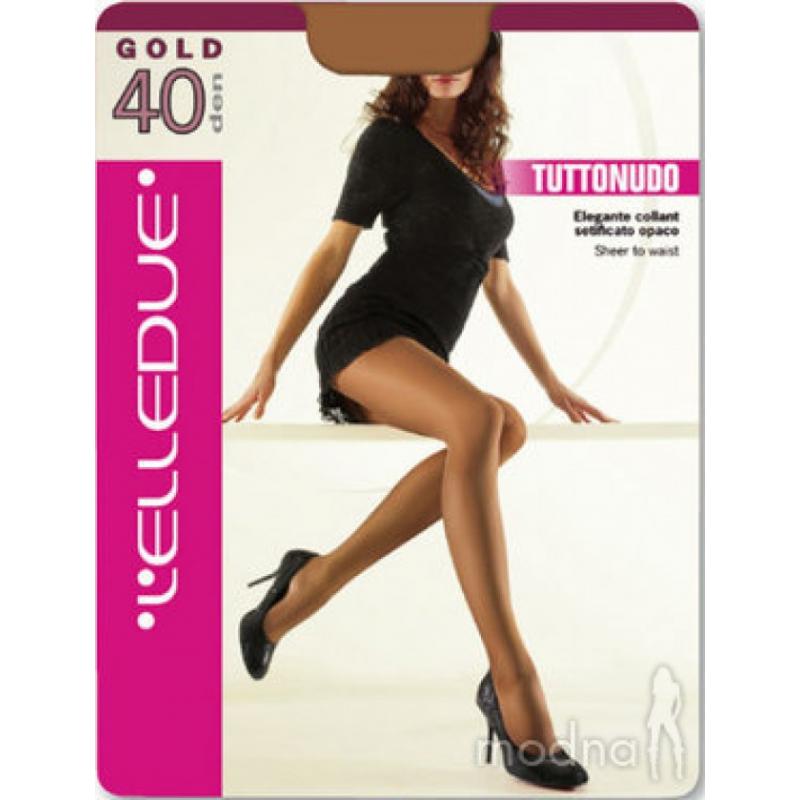 Elledue Gold Καλσόν 40 DEN GO2A-B