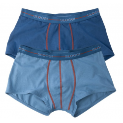 Sloggi Boxer Men Start Hipster C2P Μπλε 2 Τμχ 122082580