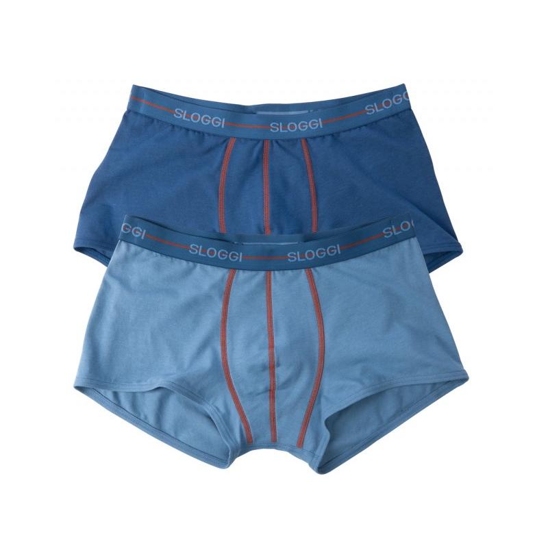 Sloggi Boxer Men Start Hipster C2P Μπλε 2 Τμχ 122082580