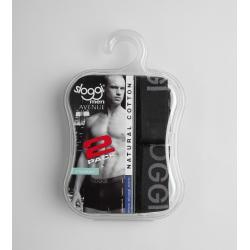 Sloggi Boxer Men Avenue Hipster Black 2 Pc 122045696