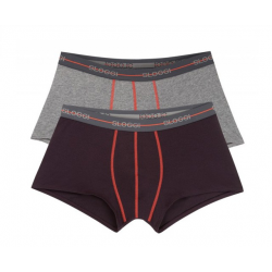 Sloggi Boxer Men Start Hipster c2p Grey-Red 122099007