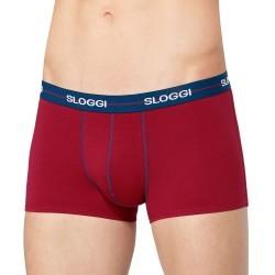 Sloggi Men Start Hipster Μπλε/Κόκκινο/Λευκό 3 Τμχ 122124403